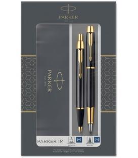 Στυλό και Πένα Σετ Parker FPen/BPen IM Duo Laque Black GT