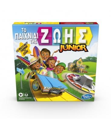 Game Of Life Junior Το Παιχνίδι Της Ζωής Hasbro
