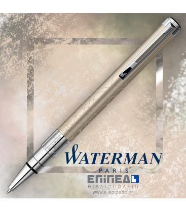 Στυλό Waterman Perspective Ballpoint Champagne CT