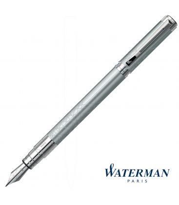 Πένα Waterman Perspective Silver Fountain Pen Fine nib