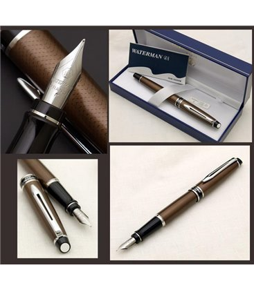 Πένα Waterman Expert City Line Urban Brown Fountain Pen