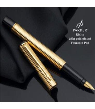 Πένα Parker Rialto Gold Plated Corinth