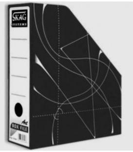 Κουτι Κοφτό SKAG Magazine Box Χάρτινο Μαυρο