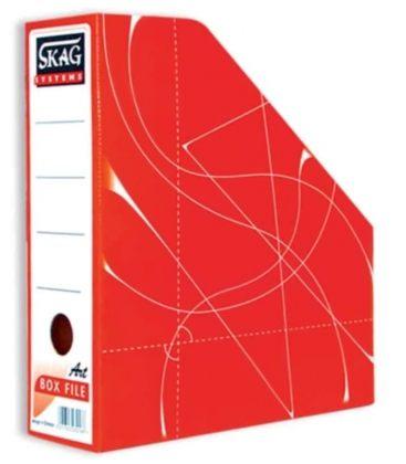 Κουτι Κοφτό SKAG Magazine Box Χάρτινο Κόκκινο
