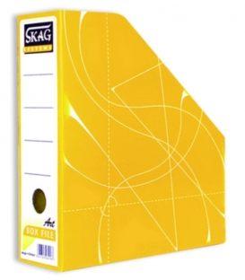Κουτι Κοφτό SKAG Magazine Box Χάρτινο Κίτρινο