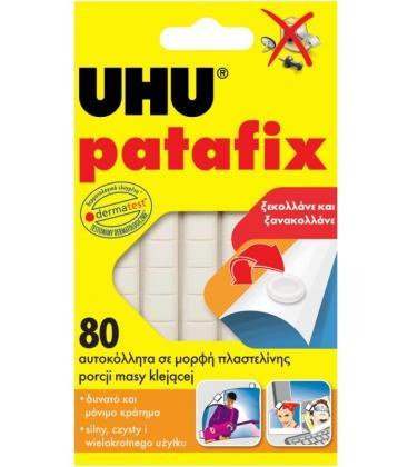 Κόλλα Πλαστελίνης UHU PATAFIX 80τεμ.
