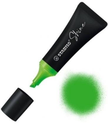 Μαρκαδόρος υπογραμμίσεως Stabilo Shine πράσινος 76/33