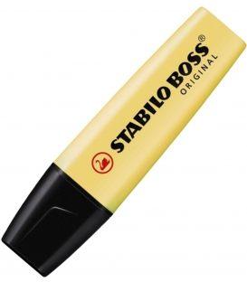 Μαρκαδόρος 70/144 Stabilo Υπογράμμισης Boss Pastel κίτρινος