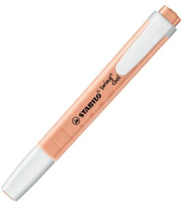 Μαρκαδόρος Υπογράμμισης Stabilo Swing Cool Pastel Πορτοκαλί 275/126-8