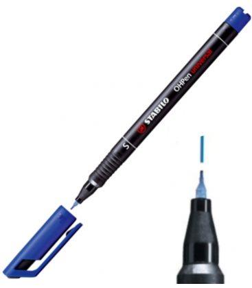 Μαρκαδόρος S 843/41 Stabilo Hopen Universal Μπλε Ανεξίτηλος