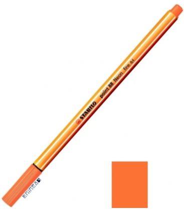 Μαρκαδοράκι 88/054 Stabilo Point 0.4 Neon Orange