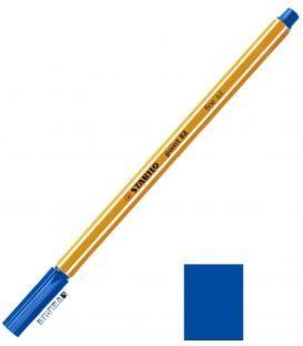Μαρκαδοράκι 88/41 Stabilo Point 0.4 Blue