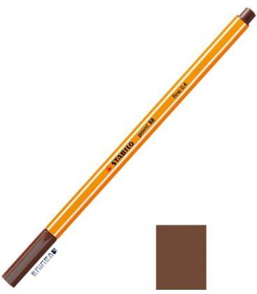 Μαρκαδοράκι 88/45 Stabilo Point 0.4 Brown