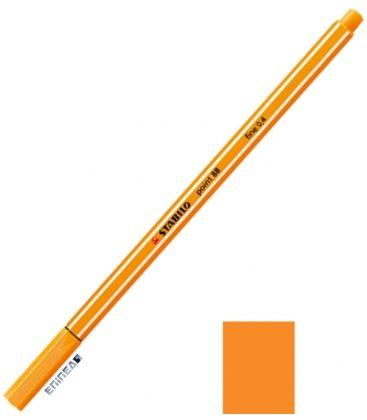 Μαρκαδοράκι 88/54 Stabilo Point 0.4 Orange
