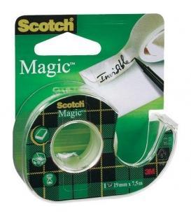 Βάση Σελοτειπ Scotch 3Μ Clear Magic Tape 19mmx 7.5m