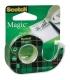 Βάση κ Σελοτειπ Scotch 3Μ Clear Magic Tape 19mmx 7.5m