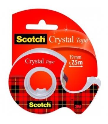 Βάση κ Σελοτειπ Scotch 3Μ Crystal 19X7.5m