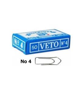 Συνδετήρες Veto Ν4 50τεμ. 33mm