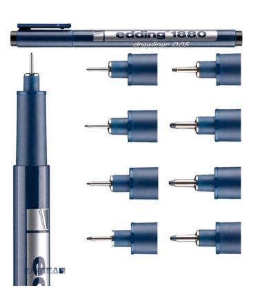 Μαρκαδόρος 03 Edding 1880 Σχεδίου 0.3 mm