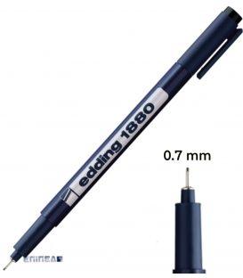 Μαρκαδόρος 07 Edding 1880 Σχεδίου 0.7 mm