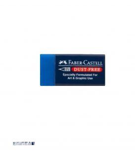 Γόμα Faber Castell Dust Free Μπλε Μεσαία