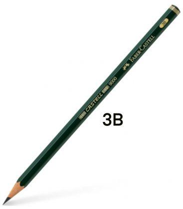 Μολύβι Σχεδίου 3B Faber Castell 9000