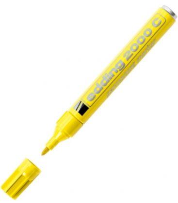 Μαρκαδόρος Edding 2000C Ανεξίτηλος Κίτρινο