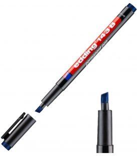 Μαρκαδόρος Edding 143 B Ανεξίτηλος Μπλε