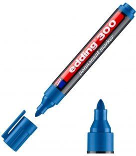 Μαρκαδόρος Edding 300 Ανεξίτηλος Γαλάζιο