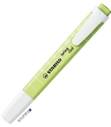 Μαρκαδόρος 275/133-8 Stabilo Υπογράμμισης Swing Cool Pastel Dash of Lime