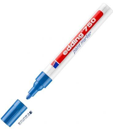 Μαρκαδόρος Edding 750/3 Fine Paint Marker Μπλε