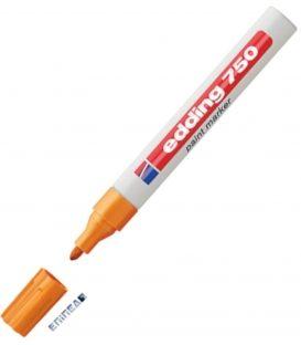 Μαρκαδόρος Edding 750/6 Fine Paint Marker Πορτοκαλί