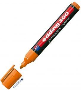 Μαρκαδόρος Edding 300 Ανεξίτηλος Πορτοκαλί