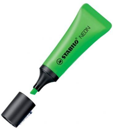 Μαρκαδόρος 72/33 Stabilo Υπογράμμισης Neon Πράσινος