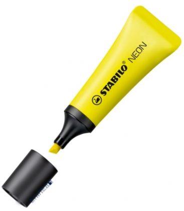 Μαρκαδόρος 72/24 Stabilo Υπογράμμισης Neon Κίτρινο