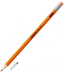 Μολύβι 2B Stabilo 4907 Neon Πορτοκ