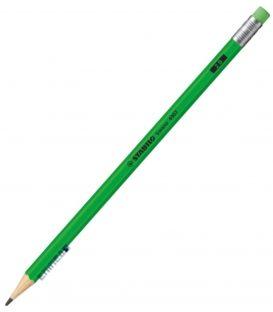 Μολύβι 2B Stabilo 4907 Neon Πράσινο