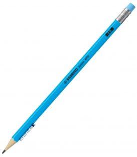 Μολύβι 2B Stabilo 4907 Neon Μπλε