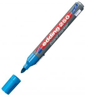 Μαρκαδόρος Edding 250/10 Ασπροπίνακα Γαλάζιο