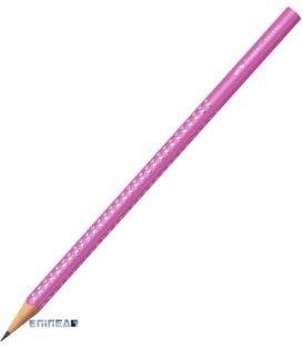 Μολύβι B Faber Castell 118229 Sparkle Μεταλλικό Φουξια