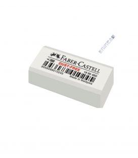 Γόμα Faber Castell Dust Free Λευκή