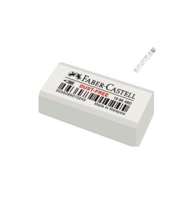 Γόμα Faber-Castell Dust Free Λευκή