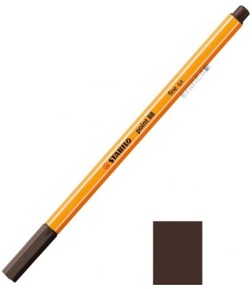 Μαρκαδοράκι 88/65 Stabilo Point 0.4 Καφε