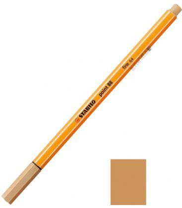 Μαρκαδοράκι 88/88 Stabilo Point 0.4 Μπεζ