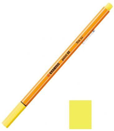 Μαρκαδοράκι 88/24 Stabilo Point 0.4 Κιτρινο