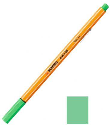 Μαρκαδοράκι 88/16 Stabilo Point 0.4 Litht Emerald