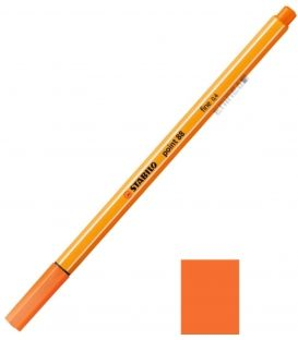 Μαρκαδοράκι 88/30 Stabilo Point 0.4 Πορτοκαλί