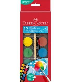 Νερομπογιές Faber Castell 12χρ