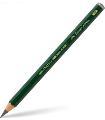 Μολύβι HB Faber Castell 9000 Jumbo Για Σχέδιο