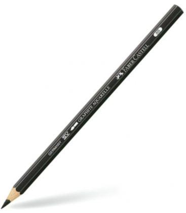 Μολύβι 8B Faber Castell Graphite Aquarelle Μαύρο